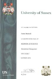 MSc. International Management & Marketing (IMM)